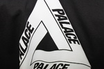 Футболка Palace Black with White Triangle фото 3