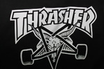 Футболка Thrasher Magazine Skateboard White 666 фото 4
