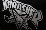 Футболка Thrasher Magazine Skateboard White 666 фото 3