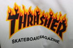 Футболка Thrasher Skateboard Magazine Fire фото 3