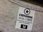 Футболка Converse Classic T-Shirt Gray фото 4