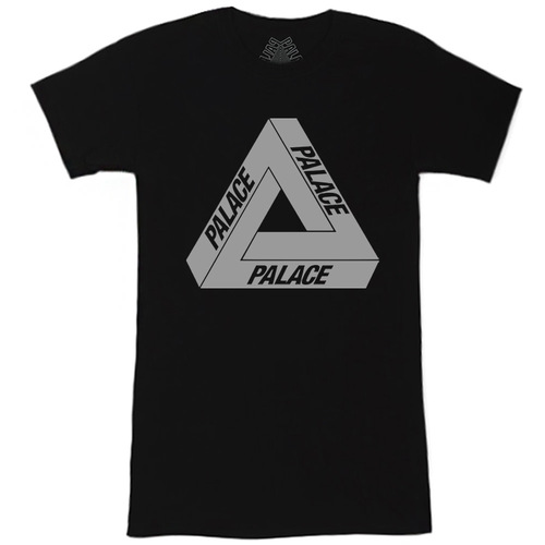 Футболка Women's Palace Black with Reflective Triangle