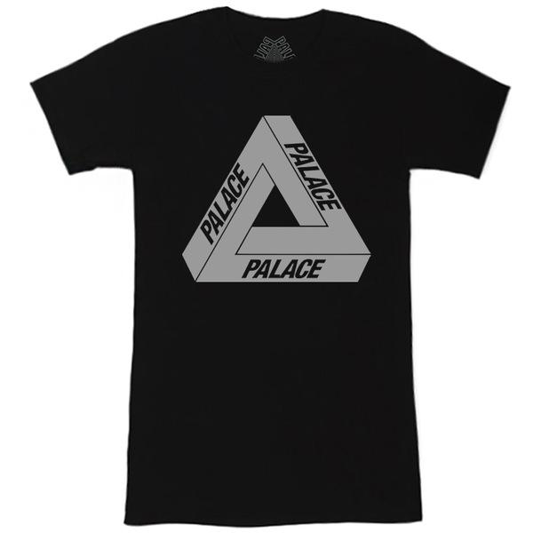 Футболка Women's Palace Black with Reflective Triangle