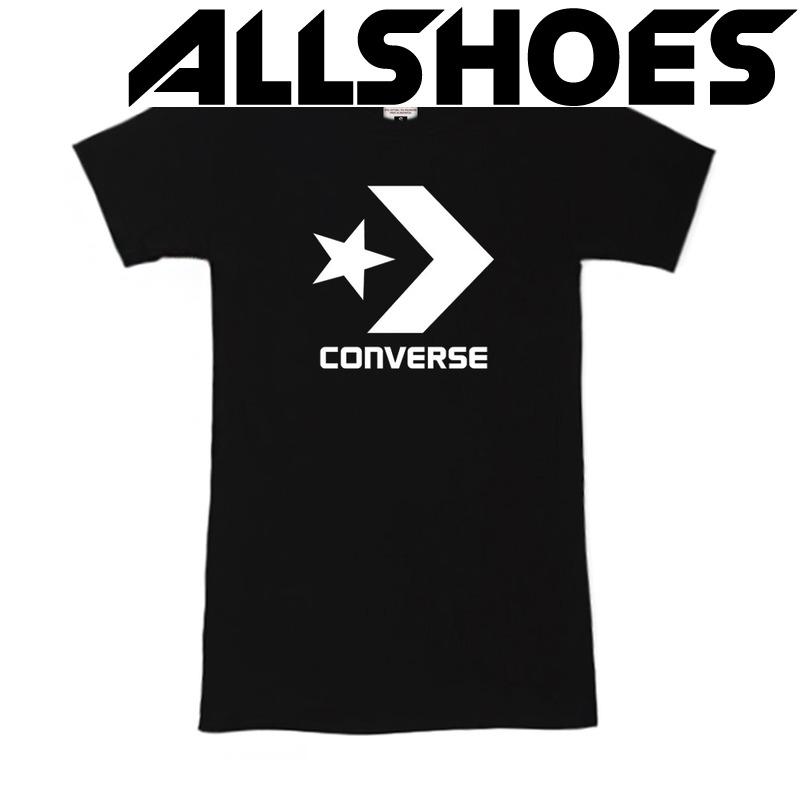 Футболка Women's Black Converse Label