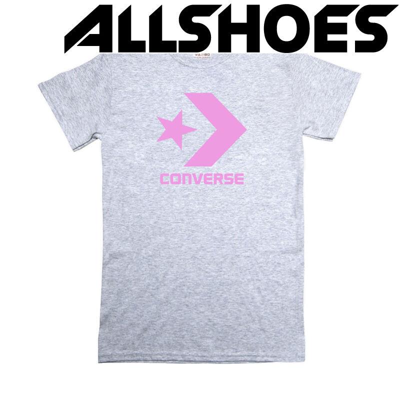 Футболка Women's Gray Converse Label Pink