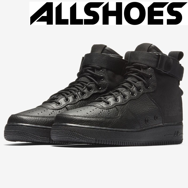 Nike SF Air Force 1 Mid Black (917753-005)