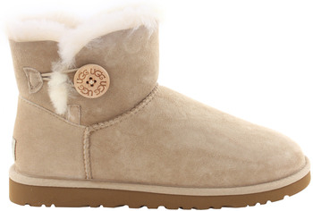 UGG Australia Mini Bailey Button Sand