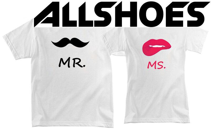Парная футболка Mr. и Ms.