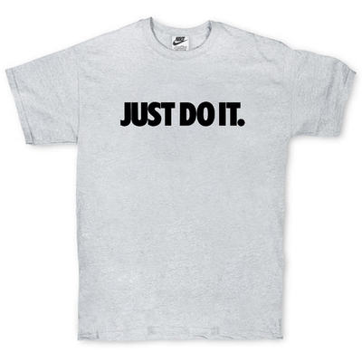 Футболка Nike Just Do It Gray