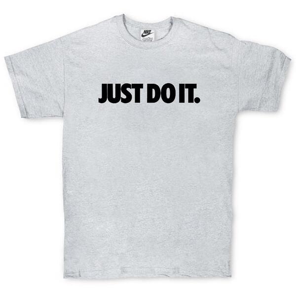 Футболка Nike Just Do It Gray