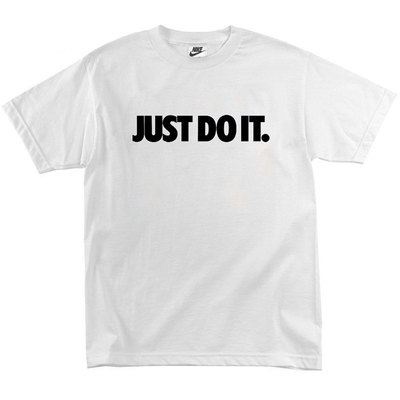Футболка Nike Just Do It White