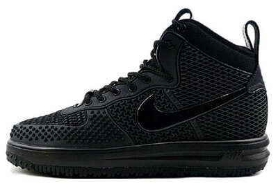 Nike Lunar Force 1 Duckboot All Black