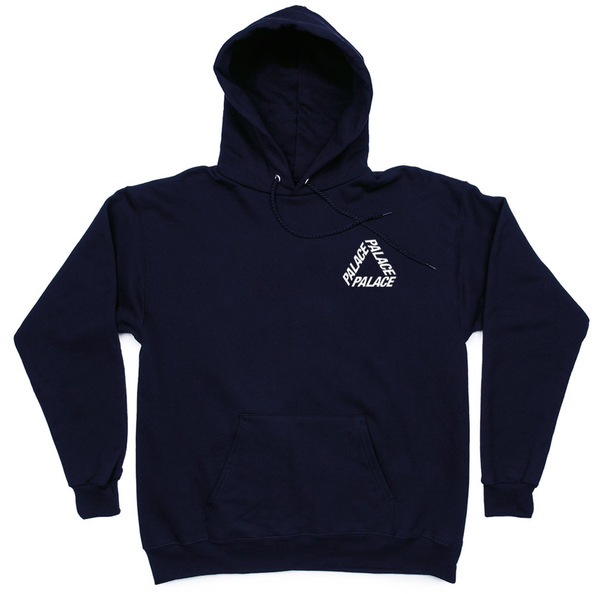 Толстовка Palace Dark Blue Hood