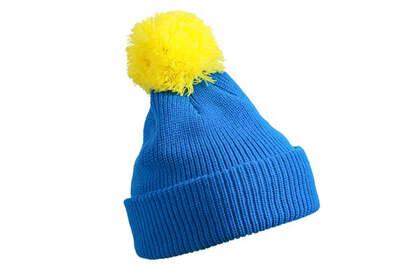 Шапка MB7967 Blue/Yellow (Новинка!)
