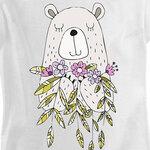 Футболка Bear with Flowers фото 3
