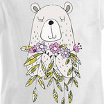 Футболка Bear with Flowers фото 3