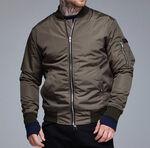 Осенняя куртка бомбер RAGE! NBJ-V2'18 Khaki фото 2