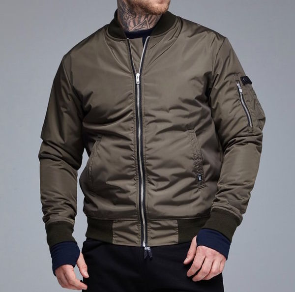 Осенняя куртка бомбер RAGE! NBJ-V2'18 Khaki