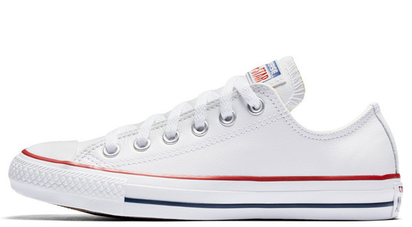 Converse All Star Leather Low Top White (132173C)
