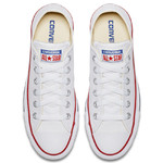 Converse All Star Leather Low Top White (132173C) фото 4