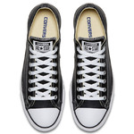Converse All Star Leather Low Top Black (132174C) фото 4