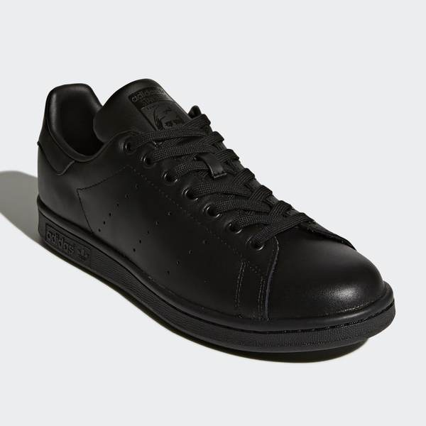 ADIDAS STAN SMITH ALL BLACK (M20327)