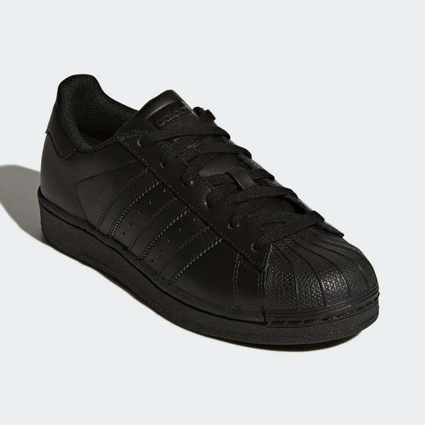 ADIDAS SUPERSTAR FOUNDATION ALL BLACK (B25724)