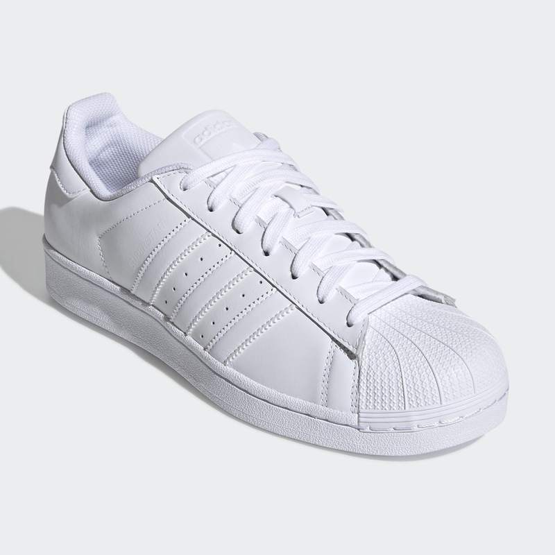online retailer 92535 a69b8 ADIDAS SUPERSTAR FOUNDATION ALL WHITE (B27136)