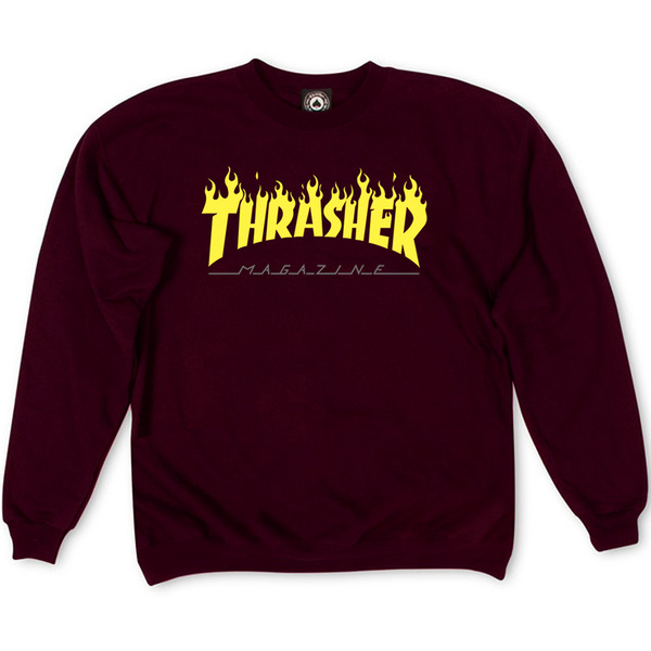 Толстовка Vinous Thrasher Fire Magazine Yellow