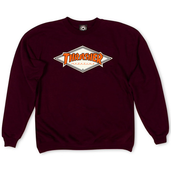 Толстовка Thrasher Magazine Vinous with Orange Rhombus