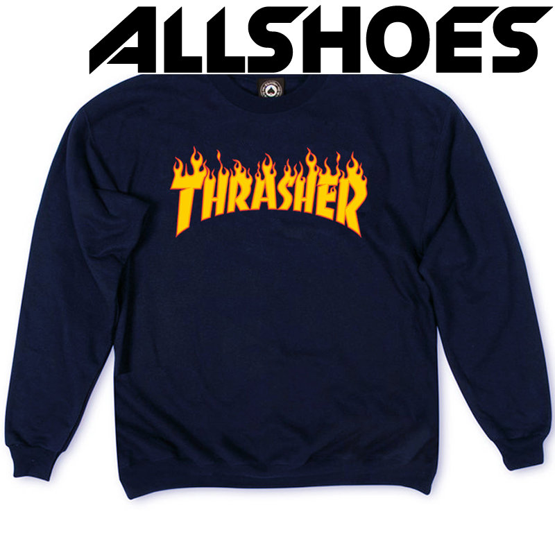 Толстовка Thrasher Fire for Dark Blue