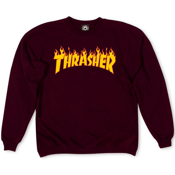 Толстовка Thrasher Fire for Vinous
