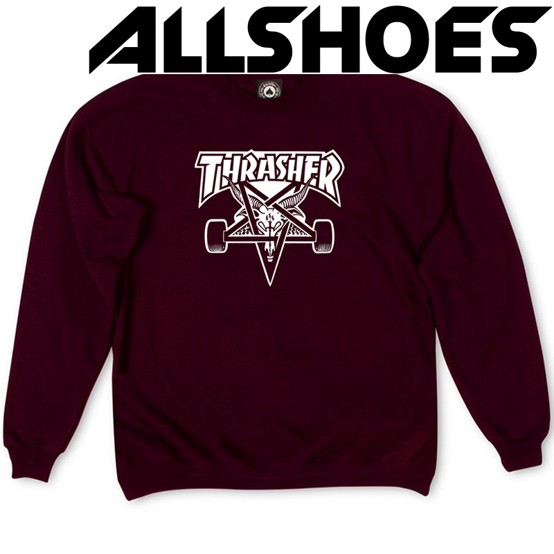 Толстовка Vinous Thrasher White Devil 666 Classic