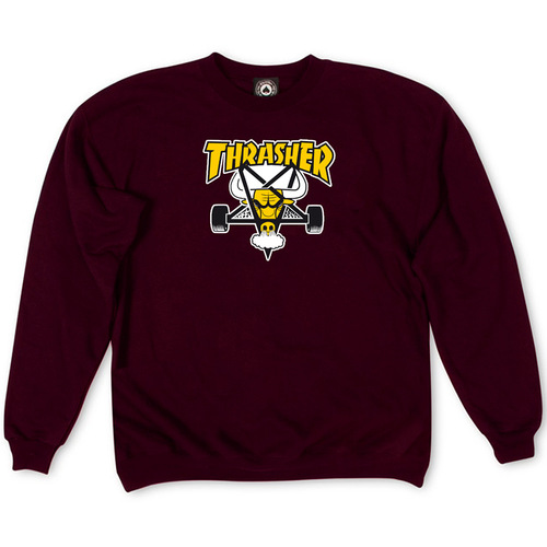 Толстовка Thrasher Vinous Yellow Bull