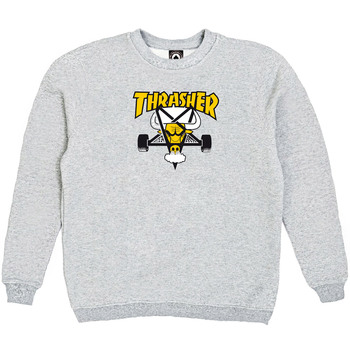 Толстовка Thrasher Gray Yellow Bull