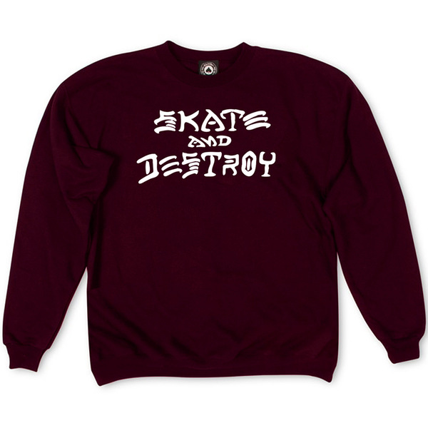 Толстовка Vinous Thrasher Skate And Destroy