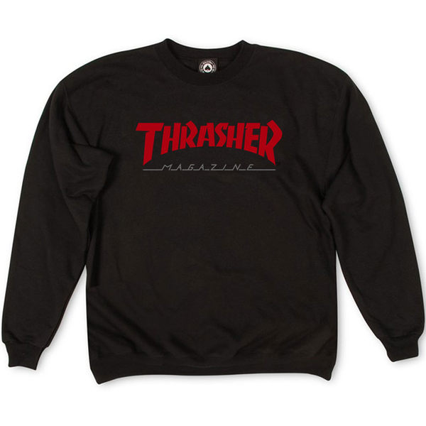 Толстовка Thrasher Magazine Black Red