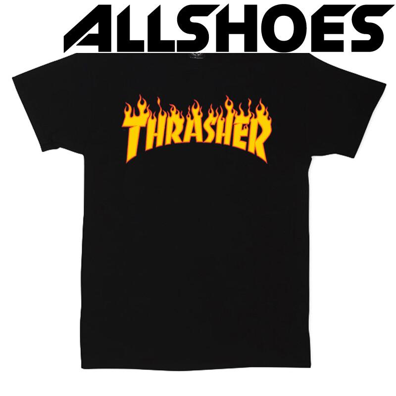 Футболка Thrasher Black Fire
