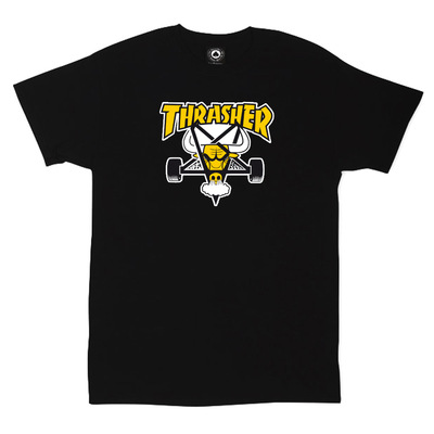 Футболка Thrasher Black Yellow Bull