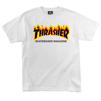 Футболка Thrasher Skateboard Magazine Fire