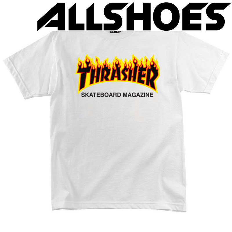 Футболка Thrasher Skateboard Magazine Fire