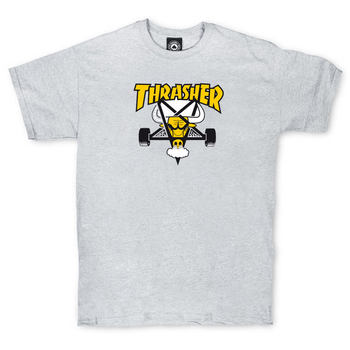 Футболка Thrasher Grey Yellow Bull