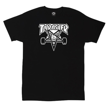 Футболка Thrasher Magazine Skateboard White 666