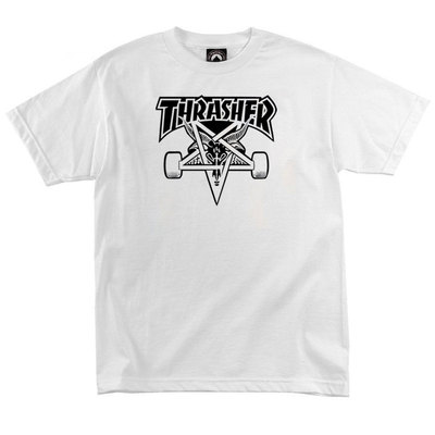 Футболка Thrasher Magazine Skateboard Black 666
