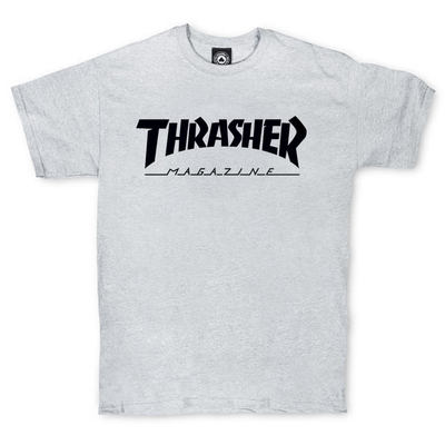 Футболка Thrasher Magazine Grey/Black Classic Label