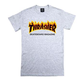 Thrasher Women's Gray Classic Fire
