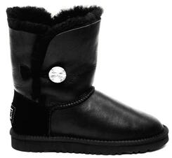 Уцененные UGG Australia Bailey Button Bling Metallic Black