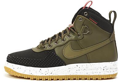 Nike Lunar Force 1 Duckboot Black/Green