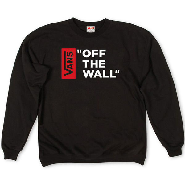 Толстовка Vans Off The Wall White Red