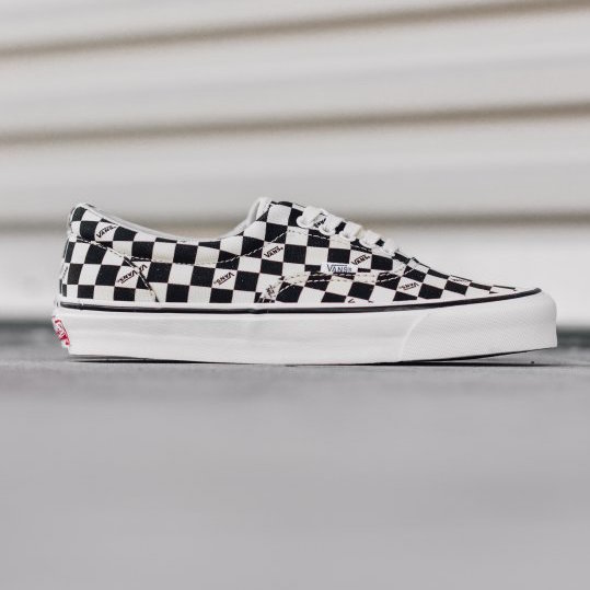 Vans FOG x ERA Checker Board Black Jerry Lorenzo